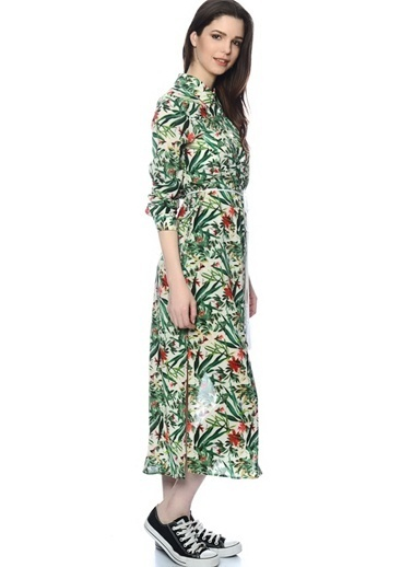 Unique Elbise Renkli